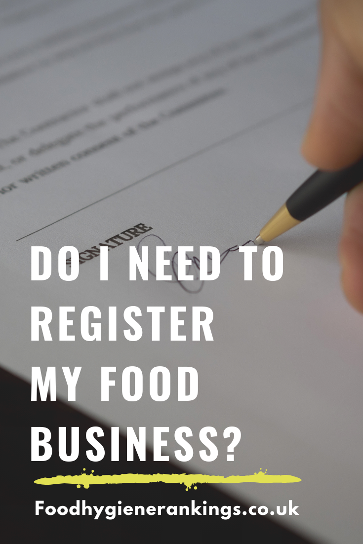 Do I need to Register my Food Business?