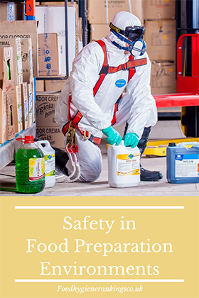 Safety in Food Preparation Environments